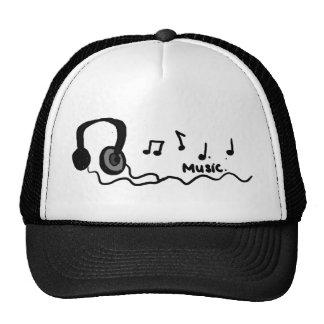 ¡Diseño fresco de la música! Gorro De Camionero