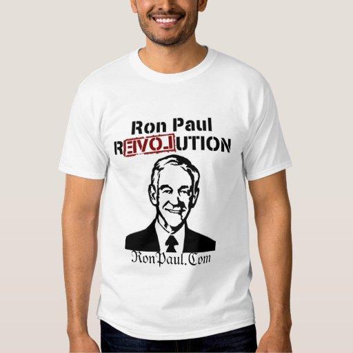 Diseño fresco de la revolución de Ron Paul de la Poleras