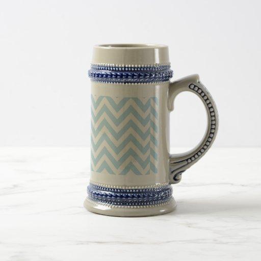 Diseño fresco de las toallas de la turquesa de Che Tazas De Café