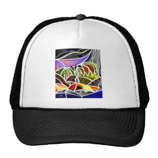 Diseño fresco del arte abstracto gorra