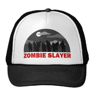 Diseño fresco del asesino del zombi gorra