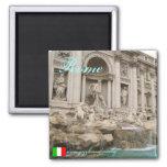 Diseño fresco del imán de Roma Italia
