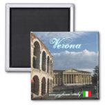 Diseño fresco del imán de Verona Italia