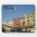 Diseño fresco del mousepad de Venecia Italia Alfombrilla De Ratón