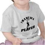 Diseño fresco del Netball Camisetas