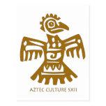 ¡Diseño fresco del pájaro antiguo! Postal