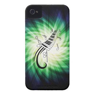 Diseño fresco del piano iPhone 4 Case-Mate carcasas