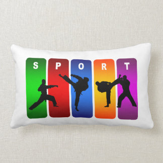 Diseño fresco estupendo del deporte de los artes m almohada