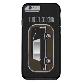 Diseño fúnebre del coche fúnebre del caso de funda de iPhone 6 tough