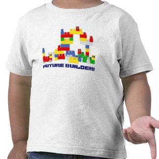 Diseño FUTURO lindo del CONSTRUCTOR con - los bloq Camiseta