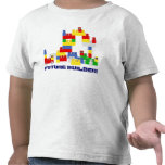 Diseño FUTURO lindo del CONSTRUCTOR con - los Camiseta