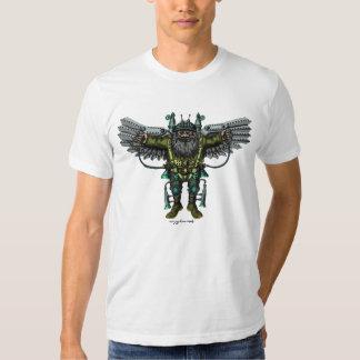 Diseño fuuny de la camiseta del individuo fresco poleras