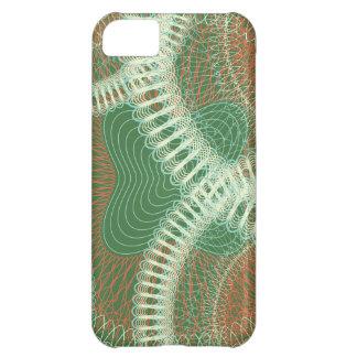 Diseño garabateado greens.ai funda para iPhone 5C