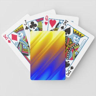 Diseño genético bicolor baraja de cartas