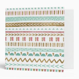 """Diseño geométrico azteca tribal de la pintura carpeta 2"""""""
