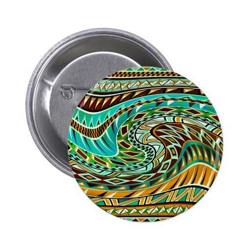 Diseño geométrico colorido pin