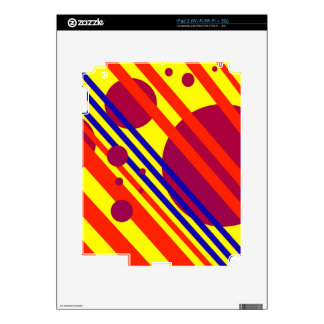 Diseño geométrico colorido por Moma Calcomanía Para iPad 2