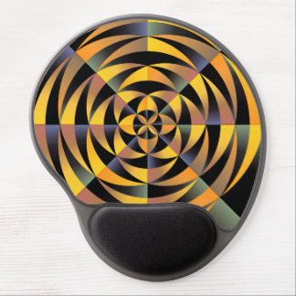 Diseño geométrico de Tigerlike Alfombrillas Con Gel