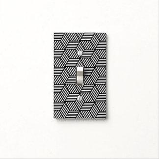 Diseño geométrico del arte del modelo cubiertas para interruptor