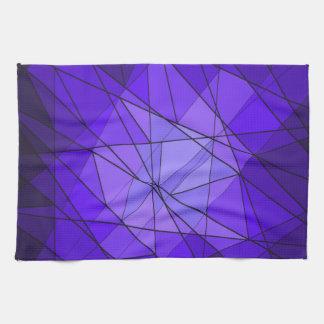 Diseño geométrico del diamante de la piedra toallas de cocina