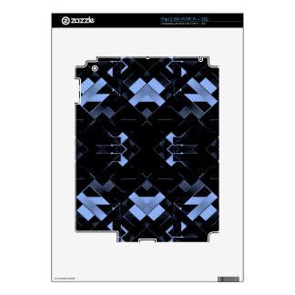 Diseño geométrico futurista iPad 2 calcomanía
