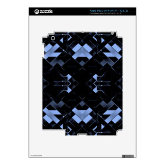 Diseño geométrico futurista iPad 3 pegatina skin