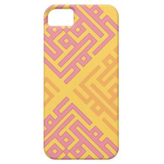 "Diseño geométrico islámico de ""Mohamed"" iPhone 5 Funda"