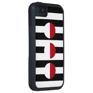Diseño geométrico moderno del arte funda iPhone SE/5/5s
