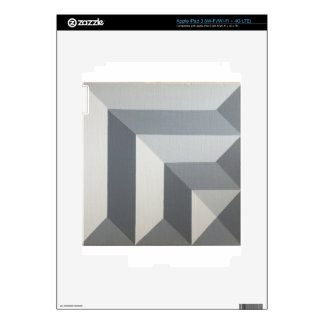 Diseño geométrico original de Dominic Joyce iPad 3 Pegatinas Skins