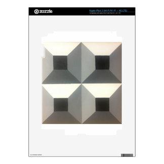 Diseño geométrico original de Dominic Joyce iPad 3 Skins