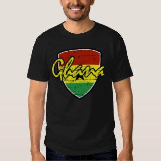 Diseño ghanés del fútbol playeras