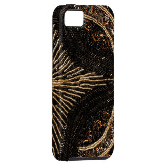 Diseño goteado vintage del monedero iPhone 5 Case-Mate protector