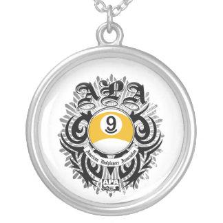 Diseño gótico de la bola de APA 9 Colgante Redondo