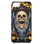 Diseño gótico de los cráneos, de los vampiros y de