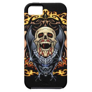 Diseño gótico de los cráneos, de los vampiros y de iPhone 5 carcasa