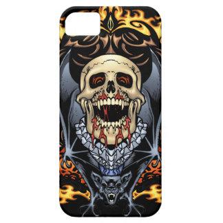 Diseño gótico de los cráneos, de los vampiros y de iPhone 5 cobertura