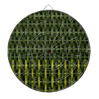 Diseño gráfico 2 del arte de mimbre verde del vint tablero dardos