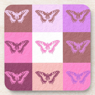 Diseño gráfico 3 del arte de la mariposa posavasos