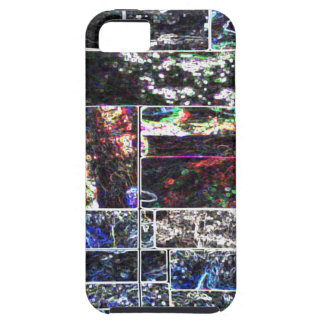 Diseño GRÁFICO abstracto NEGRO de KOOLshades iPhone 5 Carcasas