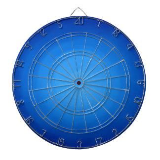 Diseño gráfico azul tablero de dardos