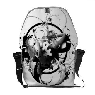 Diseño gráfico - bolsas de mensajeria