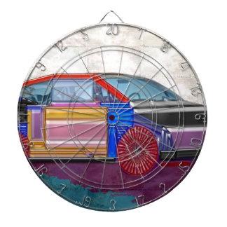 Diseño gráfico: Coche exótico Tablero Dardos