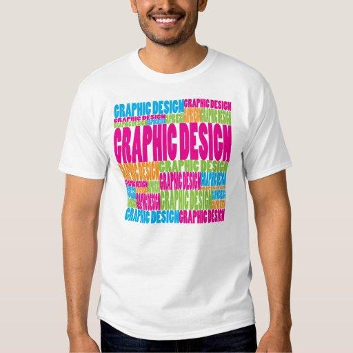 Diseño gráfico colorido playeras