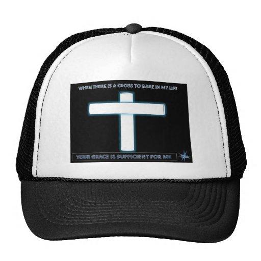 Diseño gráfico cruzado gorra