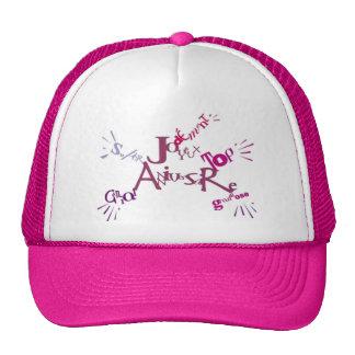 Diseño gráfico cumpleaños - gorras de camionero