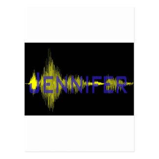 Diseño gráfico de Jennifer para el nombre Postal