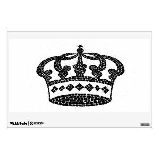 Diseño gráfico de la corona