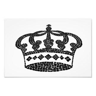 Diseño gráfico de la corona arte con fotos