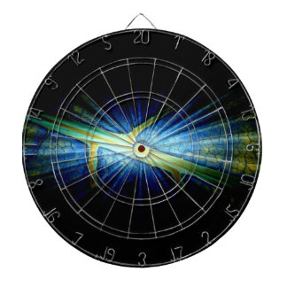 Diseño gráfico de la hoja del arte tabla dardos