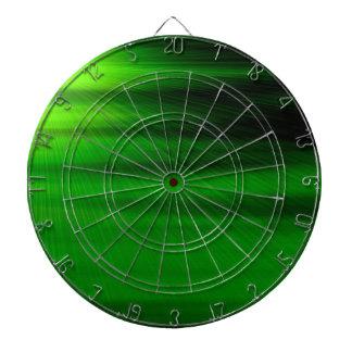 Diseño gráfico de la luz verde tablero dardos